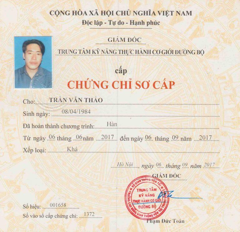Chung Chi Han So Cap