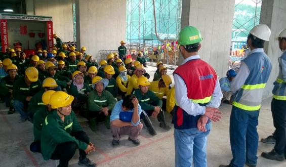 Huấn luyện an toàn cho công nhân ở đâu?