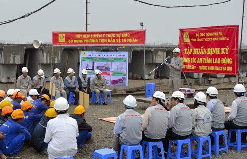 Huấn luyện an toàn vệ sinh lao động tại Kiểm định an toàn KV2