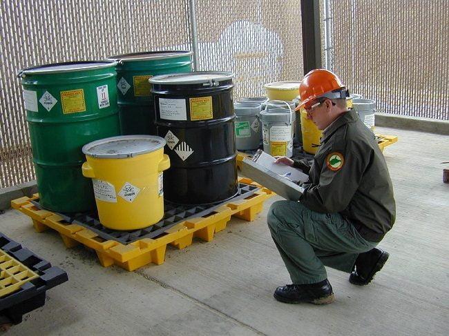 quy trình quản lý hóa chất trong doanh nghiệp
